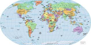 Map Of Thr World by Clipart Map World Collection