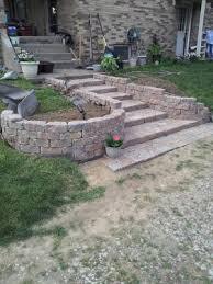 shop allen roth bertram ashland flagstone retaining wall block