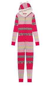 s secret pink onesie pajamas at s clothing