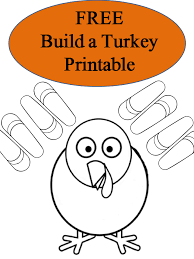free printable build a turkey booklet surviving a s salary