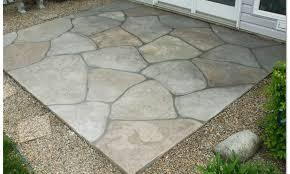 concrete patio paint image ideas landscaping gardening ideas