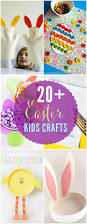 a fun and easy round up of 20 easter kids crafts great