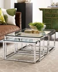 Glass And Chrome Coffee Table Glass Chrome Coffee Table Thing