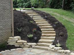 Backyard Steps Ideas A Possibility For Our Landslide On The Side Of Our House