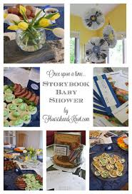 once upon a time storybook baby shower