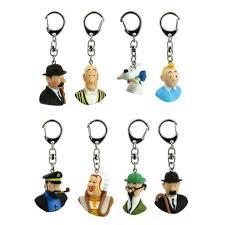 small key rings images Tintin keyrings tintin boutique jpg