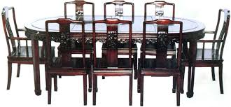 oriental dining room set chinese chippendale dining chairs starlize me