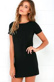 shift dress chic black dress shift dress sleeve dress 48 00