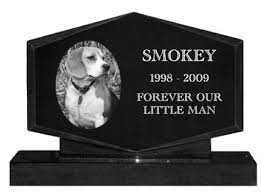info on different types of headstone for dogs