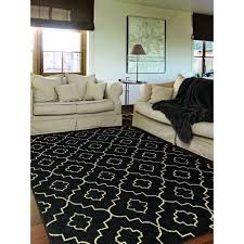 awesome black and white area rug 810 walmart rugs on 8 x 10 within
