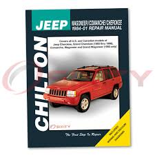 jeep cherokee chilton repair manual classic briarwood country