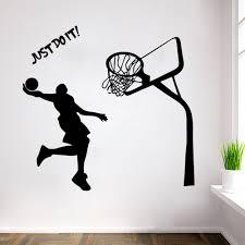 popular stickers michaels buy cheap stickers michaels lots from michael jordan decal wall sticker art home decor basketball poster art boys home decor basketball sports