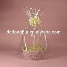 gift basket wrap clear flat cello cellophane bags gift basket packaging bags for