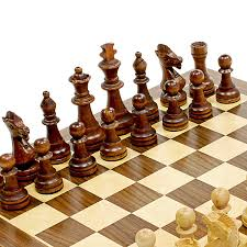 amazon chess set amazon com we games traditional staunton wood chess set with