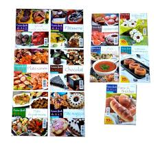 livre de cuisine facile pack de 11 livres de cuisine collection cuisine facile de a à z