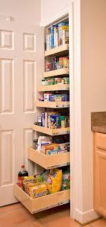 Kitchen Cabinet Rolling Shelves Pantry Pullout Shelves And Baskets View And Reach Items In The