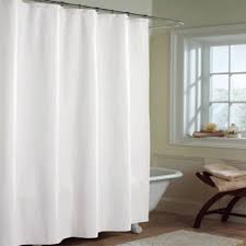 White Shower Curtain Shower Curtain Liners Fabric And Peva Vinyl Shower Liners