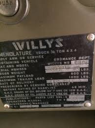 my u002744 willys mb g503 military vehicle message forums