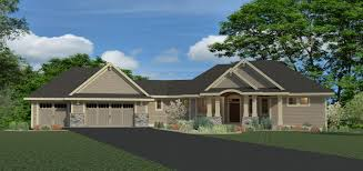 100 rambler style home home plan french country style