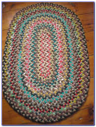 Rag Rug Directions Braided Rag Rug No Sew Rugs Home Decorating Ideas Maw4r1loow