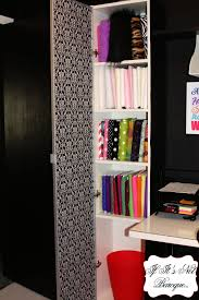 if it u0027s not baroque fabric storage closet in my office craft room