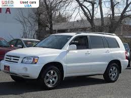 used car toyota highlander for sale 2007 passenger car toyota highlander falls church