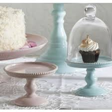 small cake stand rosanna decor bon bon hue white bead mini cake pedestal