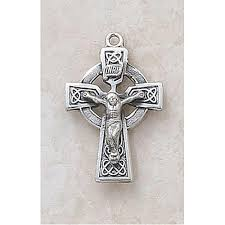 celtic crucifix sterling silver celtic crucifix pendant catholic gifts
