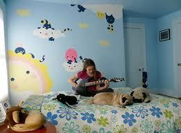 Bedroom Wall Mural Paint Brilliant 70 Kids Bedroom Murals Design Decoration Of Best 25