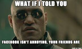 Annoying Memes - ray william johnson on twitter meme of the day why facebook is
