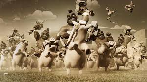 clash of clans wallpaper background hog rider wallpapers wallpaper cave