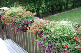 wooden deck railing flower boxes wood deck rail planter box deck