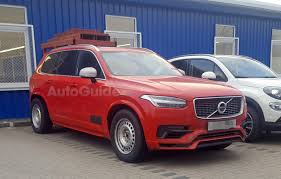 volvo trucks facebook is this mysterious volvo xc90 a mule for a pickup truck