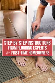Floating Laminate Floor Over Carpet Best 25 Installing Laminate Wood Flooring Ideas On Pinterest