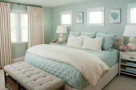 hgtv loves this dreamy coastal bedroom with seafoam green walls