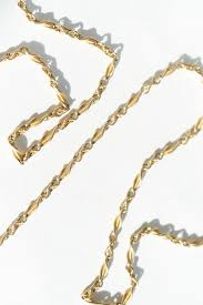 gold chain necklace long images 52 inch long antique 15k gold chain quitokeeto jpg