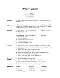resume objective exles for service crew career objective resume exle in internship exles free dow