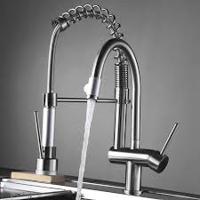 Kitchen Faucet Outlet Fapully Kitchen Sink Mixer Swivel Spray Chrome 3