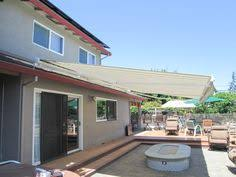 Motorized Awnings Retractable Awnings Come In Thousands Of Color And Style