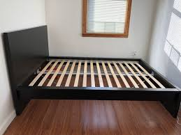 Bed Frame High Ikea Malm Bed Frame High Size Furniture In Ny