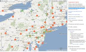 Gas Map Google Crisis Map Power Gas Damage From Sandy Damage The Big
