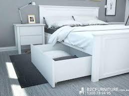 6 Drawer Bed Frame Noble 6 Drawer Bed Frame Design Brown King Platform Storage