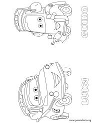 cars movie luigi guido coloring