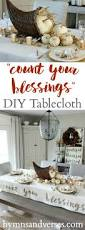 thanksgiving phrase count your blessings thanksgiving tablecloth hymns and verses