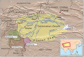 World Map Of Deserts Taklamakan Desert Wikiwand