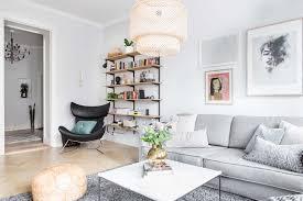 scandinavian livingroom bright and airy two bedroom scandinavian apartment interior