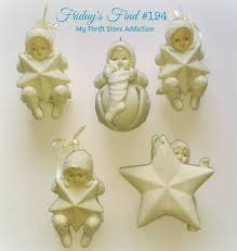 my thrift store addiction retired vintage snowbabies friday s