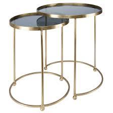 table bout de canap en verre 2 bouts de canapé en métal doré et verre bout de canapé parfait