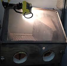 blast cabinet light kit 5 ways to light up sandblast cabinets