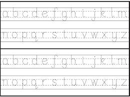english alphabet worksheet for kindergarten activity shelter
